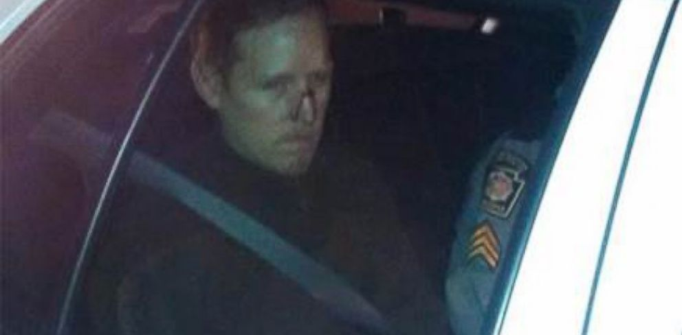 PHOTO: Eric Frein is seen after being taken into custody, Oct. 30, 2014.