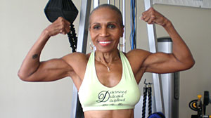 Photo: Body Building Grandma Ernestine Shepherd Bench Presses, Runs Marathons At 73 Years Young: Grandmother Up Every Day at 3 a.m.; I Feel Better Than I Did at 40