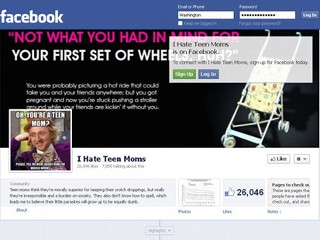 'I Hate Teen Moms' Facebook Page Under Fire