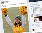 "PHOTO: The Chicago Bears Fan Facebook Page posted a photo of Kaitlyn Collins with a caption reading, ""Like if You Agree The Packers Have The Worst Cheerleaders In The NFL!"""