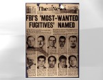 PHOTO  The FBIs ?Top Ten? list turns 60 this week, and in that time some 493 other fugitives have found their names counted among the worst of the worst.