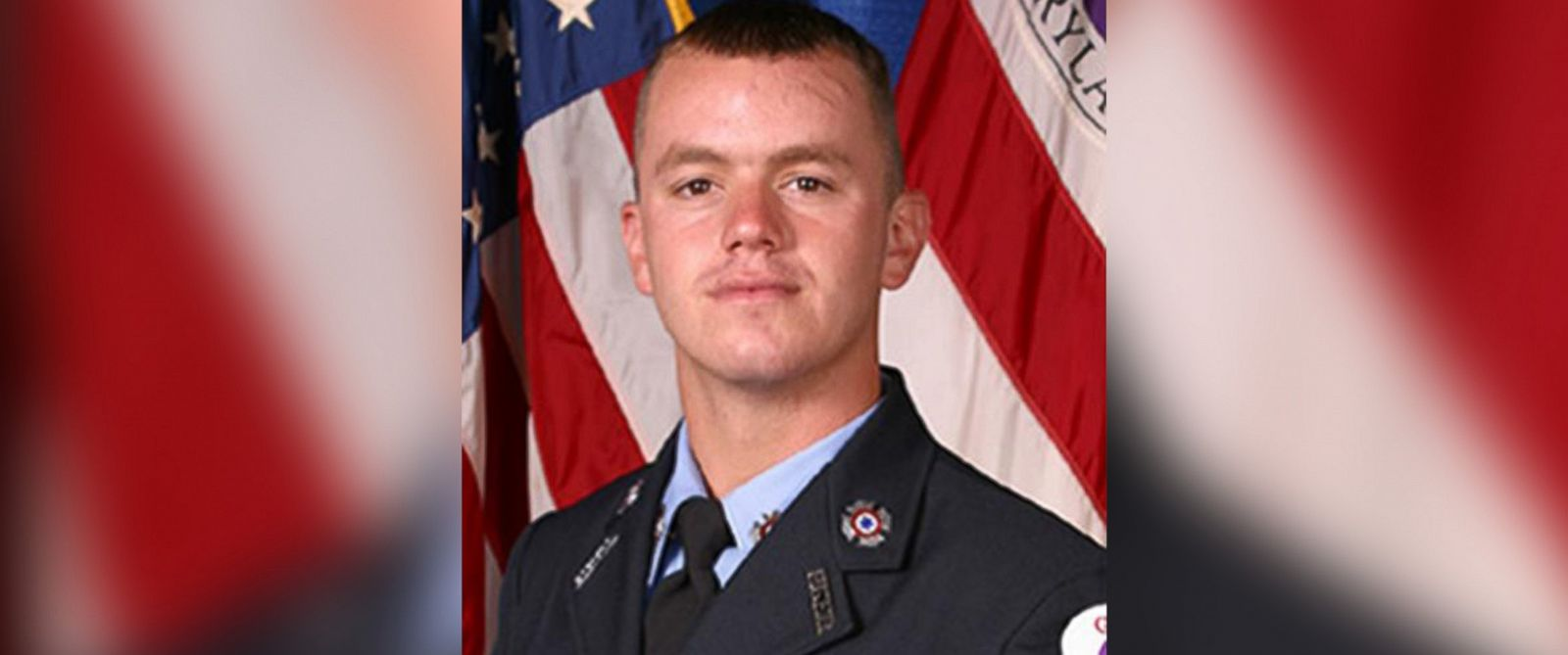 PHOTO: Maryland firefighter John Ernest Ulmschneider, pictured as a recruit circa 2003, was shot and killed while responding to a welfare check in Prince Georges County, April 15, 2016.