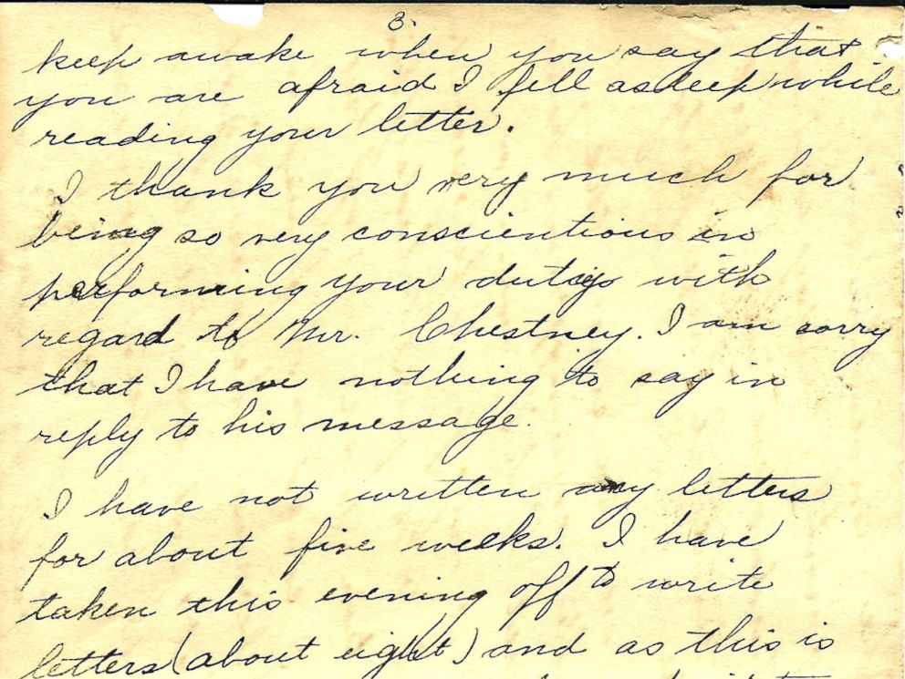 woman posting pennsylvania couple's 109 love letters from more