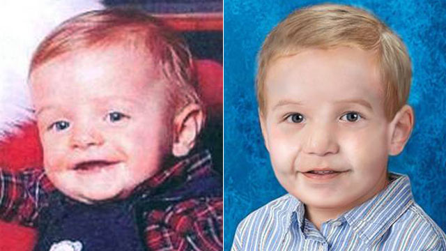 PHOTO: Gabriel Johnson was abducted by his mother on Dec. 27, 2009. His age-progressed photo shows him at 2-years-old.