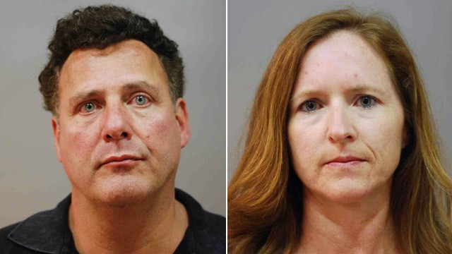 PHOTO: Gary Giordano and Carol Ann Bock mugshots