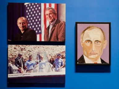 Photos: George W. Bush Displays his Talent in Art, Diplomacy