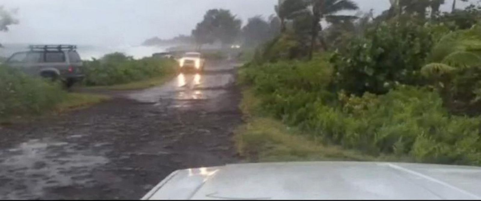 PHOTO: Tropical Storm Iselle landed on Hawaii on Aug. 7, 2014.