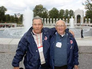 Celebrity Treatment for WWII Veterans on Honor Flight