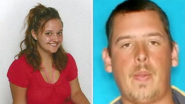 PHOTO: An amber alert has been issued by authorities in Harris County, Tex. for Haylie White, left. The suspect, right, is 33-yr-old Jacob West.