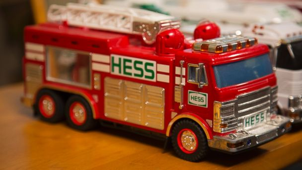 Man Builds Hess Toy Truck Collection Over 50 Christmases - ABC News