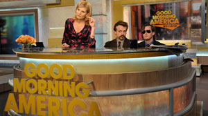 Comedians bring back the high-five to GMA Weekend