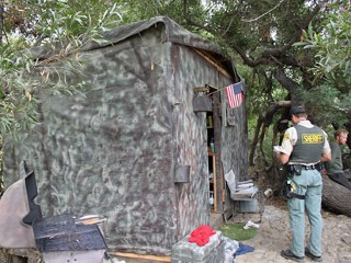 Elaborate, Camouflaged Home Found in Calif. Park