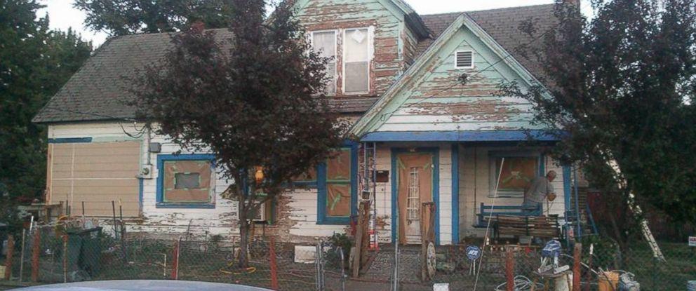 PHOTO: Josh Cyganik got about 100 volunteers to paint an elderly mans house on July 18, 2015.