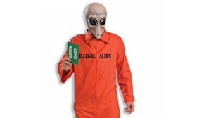 "Civil rights and anti-discrimination activists are up in arms over the ""Illegal Alien Adult Costume,"" manufactured by Forum Novelties."