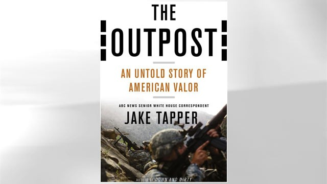"PHOTO: Jake Tapper's book ""The Outpost"""