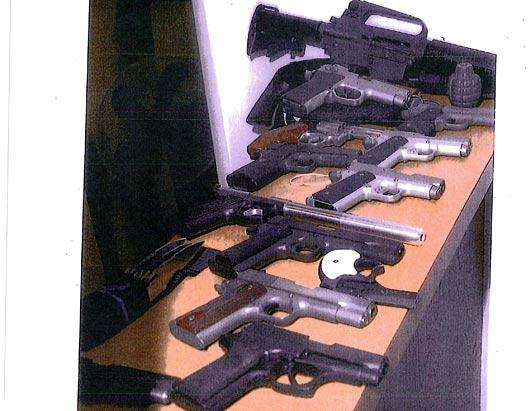"James ""Whitey"" Bulger's Weapons"