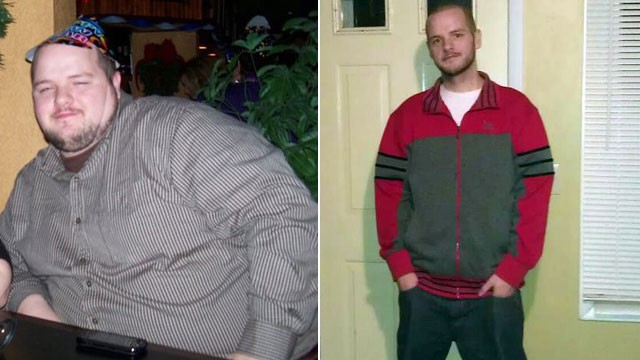 PHOTO: James Wornick's bet with his wife helped him lose nearly 200 pounds