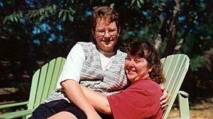 PHOTO Janice Langbehn with Lisa Pond of Lacey, Wa. They were kept apart as Lisa lay dying in a Miami hospital in 2007.