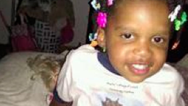 PHOTO:Three childcare workers have been arrested according to Georgia police following the death of two-year old Jazmin Green, shown in this family photo.