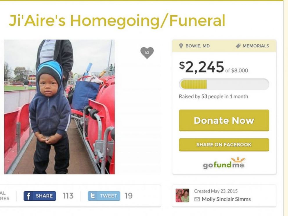 PHOTO: A GoFundMe page to raise money for JiAire Lee.