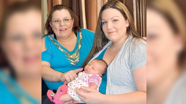 ht joanne luna lorraine lindbloom gianna birthday baby jc 140718 16x9 608 Mother, Daughter and Grandmother Share Same Birthday