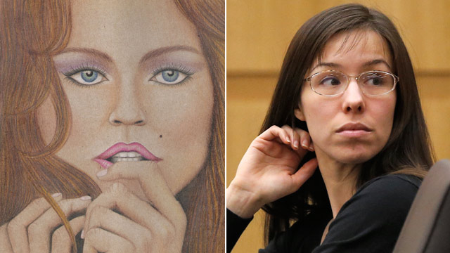 PHOTO: Jodi Arias drawing