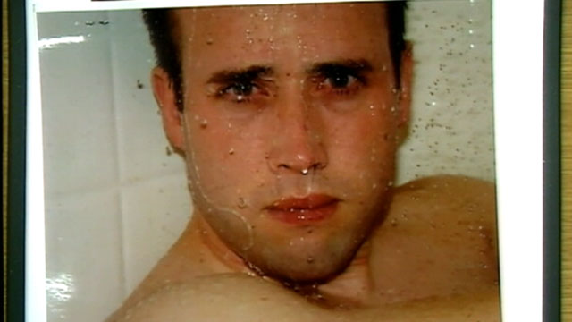 PHOTO: A series of photos taken of a naked Travis Alexander in the shower, th