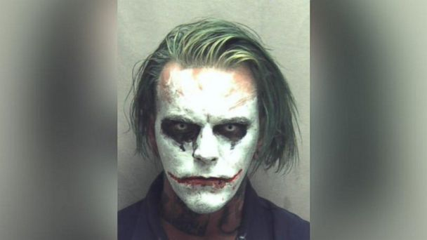 PHOTO: Jeremy Putnam, 31, was charged on March 24, 2017, in Winchester, Virginia, with wearing a mask in public.