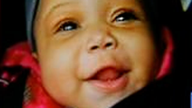 PHOTO: Baby Jonylah Watkins died after she and father were shot in Chicago, March 11, 2013.