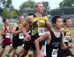 PHOTO: Hero runner Josh Ripley, racing in a meet for Andover High School.
