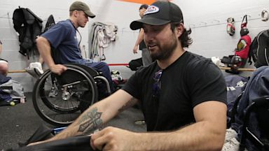 PHOTO: Josh Sweeney, U.S. National Sled Hockey Team Member, is seen here in this undated photo.