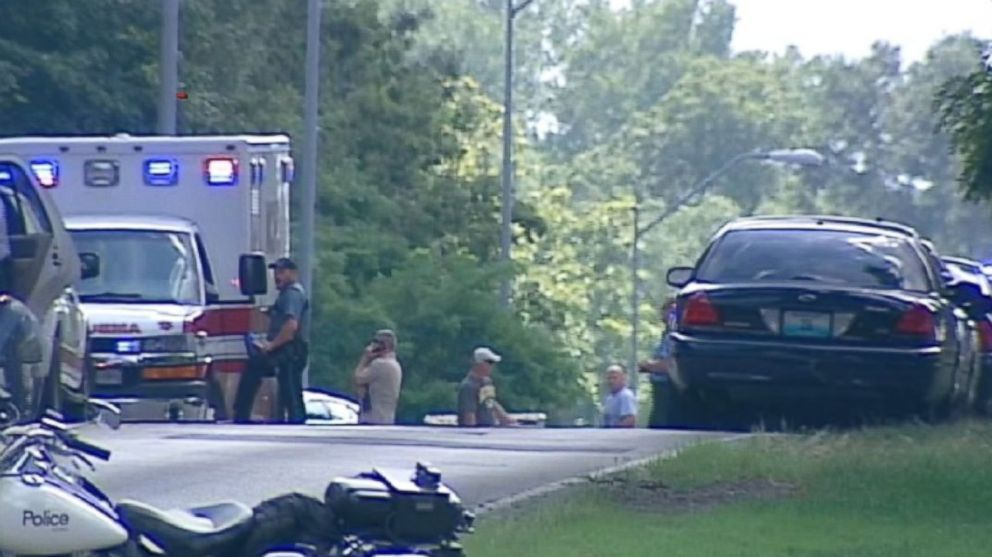 PHOTO: Authorities are investigating a shooting spree and assault in Kansas City, Mo. on Sept. 2, 2014.