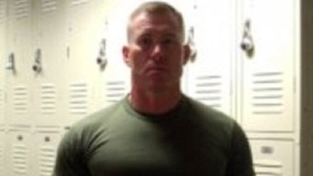 Marine Karl Trenker is recovering from being shot several times during an attempted Craigslist transaction.