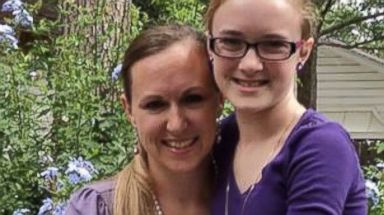 PHOTO: Cassidy Stay, 15, seen here with her mother Katie Stay in this undated photo posted to Facebook, called 911 after being injured in a shooting in Spring, Texas, July 9, 2014.