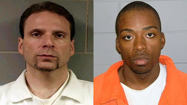 PHOTO: Kenneth Conley, left, and Jose Banks two inmates who escaped from the Metropolitan Correctional Center in downtown Chicago, Dec. 18, 2012.