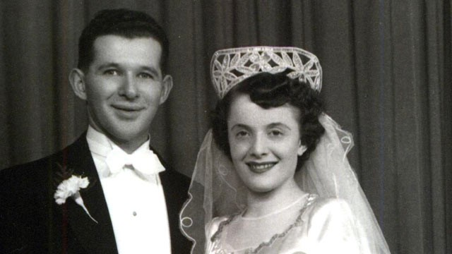 PHOTO: Howard and Nancy Kleinberg met at a concentration camp during the holocaust.  63-years later, they are still married.