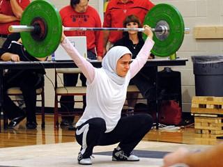 muslim women for London Olympics