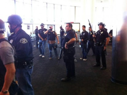 Dramatic Images of Shooting at LAX