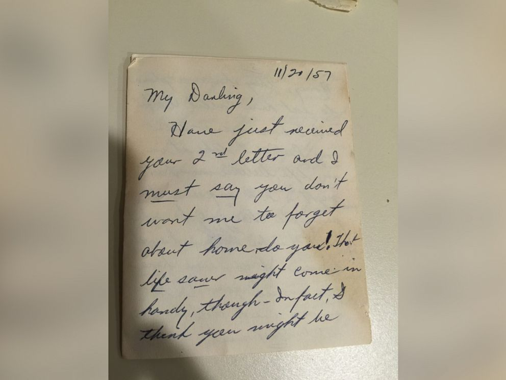 photo frank vannostrand and his wife are trying to reunite this love letter written
