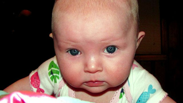 PHOTO: Kansas City police have issued an Amber Alert for a 10-month-old girl, Lisa Irwin, who apparently was abducted from her bedroom overnight.