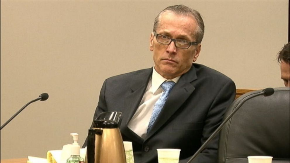 PHOTO: Dr. Martin MacNeill is seen in court on Oct. 29, 2013 where he is facing charges for murdering his wife, Michele, in 2007.