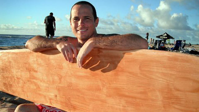 PHOTO: Joshua Holley, 28, was surfing at his favorite spot off the coast of Oahu, Hawaii's North Shore, when he was attacked by a shark.