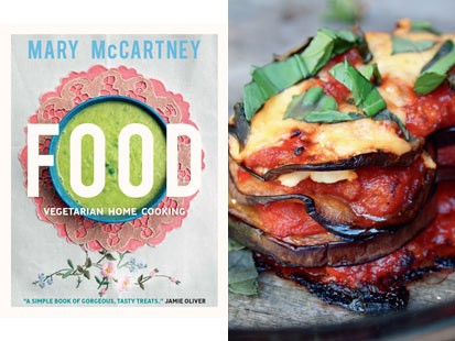"PHOTO: Mary McCartney shares simple, vegetarian meals for the whole family in her new cookbook, ""In Food: Vegetarian Home Cooking."""