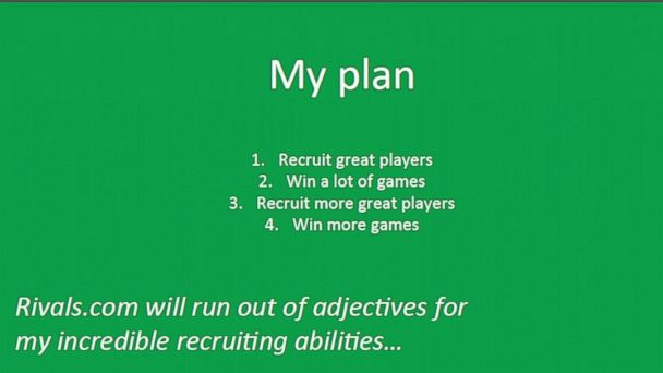 ht mccomas coaching plan kb 131212 16x9 608 Scrappy Coach Wannabe Cites Love of Game in UND Football Coach Application