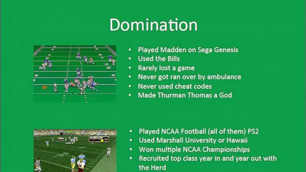 ht mccomas domination kb 131212 16x9 608 Scrappy Coach Wannabe Cites Love of Game in UND Football Coach Application