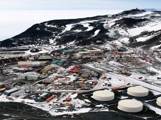 Patient Rescued at Antarctic Station