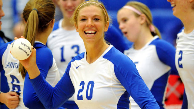 PHOTO: Megan Boken, seen here in this undated handout photo from Saint Louis Athletics Department, was s