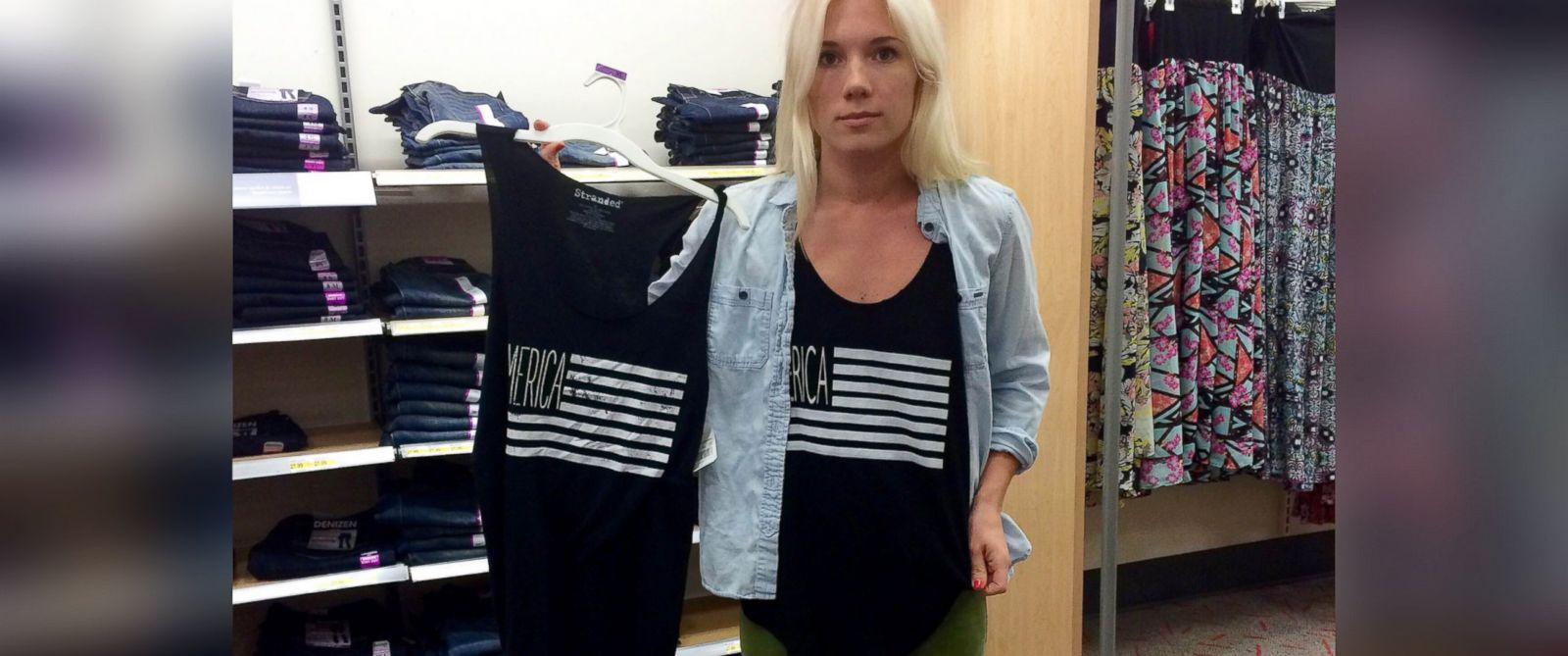 PHOTO: Melissa Lay was stunned when she reportedly found her design on a Target t-shirt.