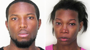 PHOTO The Hillsborough County Sheriffs Office booking photos of Christopher Lewis and Deonjhane Menifield are shown here.