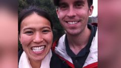 PHOTO: David Messerschmitt, 30, and his wife, Kim Vuong, are pictured in this undated photo.